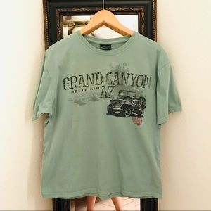 Grand Canyon Jeep Graphic tee